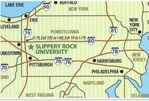 THE Slippery Rock University / Yes Virginia, there is a Slippery Rock:)    Class of 1970 / by Barb Yenchik
