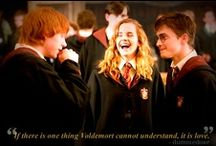 Harry Potter. / Changed my life, shaped my world. / by Ráchel Alžběta