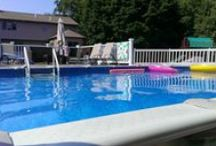 Above ground pools  / Above ground pool supply store and local installation service provider.  http://www.abovegroundpoolbuilder.com / by The Above Ground Pool Builder