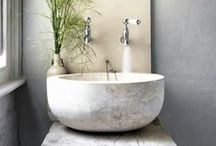 Wash / Bathroom- a place to wash, relax, and soothe your soul.