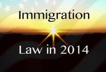 Immigration / Helpful info regarding immigrant rights and info for immigrants seeking to secure status in the U.S. / by Otono Lujan