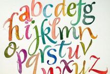 Lettering // Alphabet