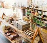 Idées pour une boutique de rêve / Inspiration pour la future boutique Lamazuna !