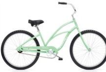 LOVE: My Electra / The Mr bought me a seafoam Electra cruiser. I'm in love. With the bike, too