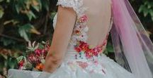 A unique feature - Wedding dresses with that personal touch / Accessoires and extras to add to your wedding dress.