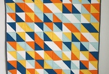 HST / quilts made with half-square triangles / by Lindsay L