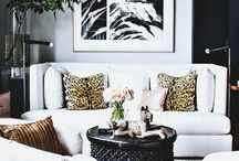 Living Rooms {a style mix} / Living rooms that have caught my eye, full of ideas and inspiration.