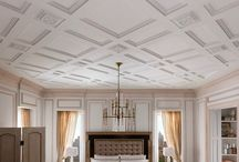 Architectural Detail {mouldings & millwork} / It's all about the details in design, and this board is devoted to adding mouldings and millwork to add a little architectural detail to an interior space.