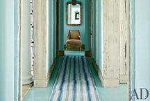 """Hallways and Hatdrops / Because everyone needs a big """"welcome home..."""""""