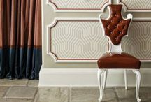 Wallcoverings & Wallpaper / Because our walls need a little love too! So put on a little glitz...