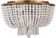 Lighting {pendants, semi & flush-mounts} / Stylish pendant and flush mount lighting. #pendant #flushmount #semiflushmount