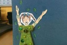 Papercrafts / Paper art, cards, papercrafting and a mixed media with paper