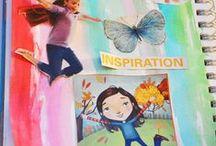 Art Journal / Art journal Ideas for kids and their grown ups