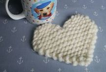 My Knitting Patterns / Discover my cute & colourful patterns! More at ww.julieandtheknits.com