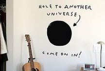 Quirky Interiors / Not necessarily things I want in my own home. But rather stuff that fascinate me.