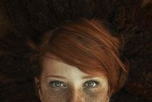 "Redheads / ""While the rest of the species is descended from apes, redheads are descended from cats."" - Mark Twain"