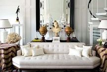 Seats {Sofas & Settees} / The most fabulous chairs, sofas, and settees.