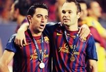 Football; Reason why I breath / Fc Barcelona. Xavi. Andres Iniesta. Leo Messi. David Villa. Carles Puyol. My heart. Do I need to explain more?