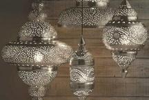Hi, Lights! / Lights, chandeliers, candelabras, sconces, pendants, floor lamps, table lamps... I am obsessed with lighting.