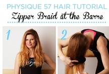 Beauty at the Barre / Feel beautiful when hitting the barre. / by Physique 57