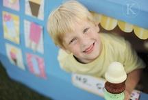 ice cream theme birthday / party like a three year old / by Jennifer Thurman