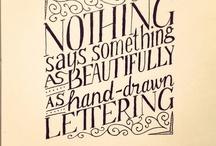 Art: Hand Lettering