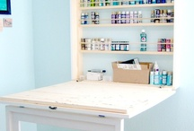 Craft room / by Liz Peterson
