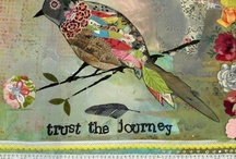 Put A Bird On It / Birds of all kinds, expressed as paintings, illustrations, needlecrafts, embroidery, felt, art journal pages, mixed media and more.