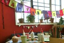 Artistic Party Ideas / Bring wild creativity into party planning!