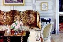 I AM LEOPARD, HEAR ME ROAR / One of my favorite patterns is Leopard, whether you use a little or a lot, it always brings a touch of old time French glam...