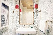 Powder Rooms {picture perfect} / Inspiring Powder Rooms...
