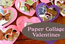Very Creative Valentine: DIY Crafts for Kids / Craft projects for kids (and creative adults!) plus recipes and party inspiration, to help you plan a simple, sustainable Valentine's Day! / by Artterro Eco Art Kits