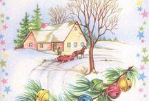 Pastel Christmas Cottage / by Ilka Ingleton