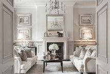 Timeless Classic / Conservative colors, symmetry, bold molding and trim, & luxurious accents make this traditional style.
