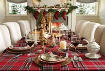 Christmas Tablescapes / The best of holiday tables-capes for the most wonderful time of the year.
