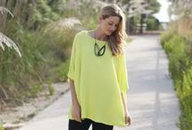 LUMINOSITY / Make a statement in neon yellow and bright whites.