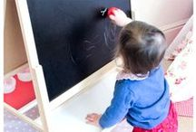 Toddler Friendly Activities / Activities that will keep little ones entertained and adults happy.