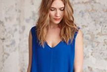 BLUE MOOD / Who says it's bad to feel blue? Get in the mood with fresh fabrics & new styles for summer.