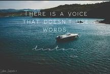Words & Quotes / La vie est belle