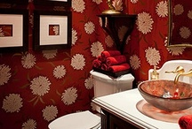 Bathrooms / To relax as well as clean. / by Jane Abernathy Hahn