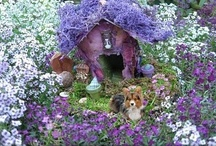 Fairy gardens / For the whimsical in all of us! / by Jane Abernathy Hahn