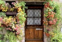 Doorways & archways / Inviting entries. / by Jane Abernathy Hahn