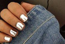 nail and makeup