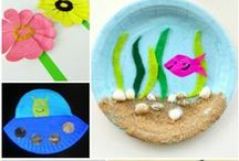 Easy Kids Crafts / Crafts that are perfect for little hands - from fellow bloggers and friends.