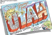 Bagley Cartoons / Editorial cartoons from The Salt Lake Tribune's Pat Bagley.