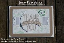 Kerry Timms Stampin' Up! Creations / Stampin' Up! Demonstrator Kerry Timms' creations using Stampin' Up! products