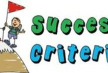 Success Criteria / by Wendy Olson
