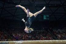Utah gymnastics / Photos of the high-ranking University of Utah gymnastics team.
