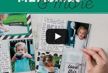 Stampin' Up! - Memories & More / Projects featuring Stampin' Up! Memories & More and Project Life products