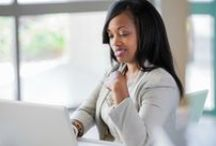 Black Women In Business / Career tips and tricks for the modern working women. / by HelloBeautiful